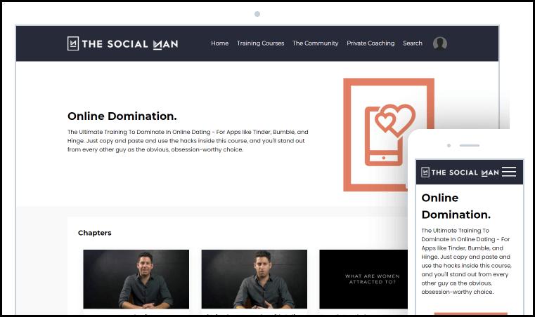 Online Domination Dashboard